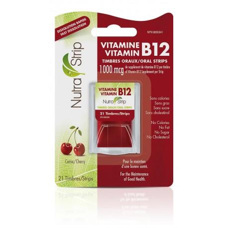 Timbres oraux vitamine B12