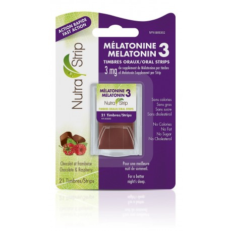 Melatonin 3 Oral Strips